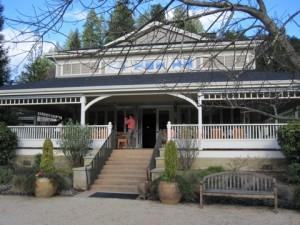 Duckhorn Winery outside